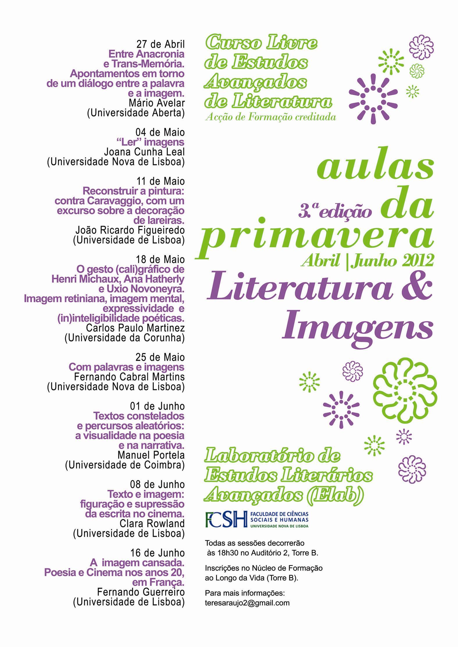 Aulas da Primavera | III Edição (2012)